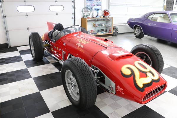 Vintage Replica Indy Race Cars