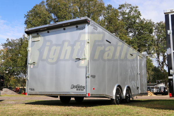 2021 8.5'x24' Bravo Race Trailer  for Sale $26,999