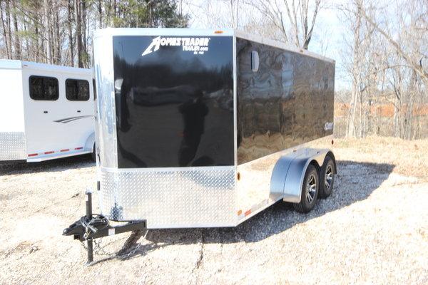 2019 Homesteader Trailers EZ-RIDER 7X12 Ramp Door Motorcycle