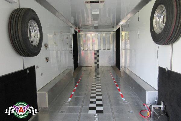 2009 T&E 53' Race Trailer with Living Quarters