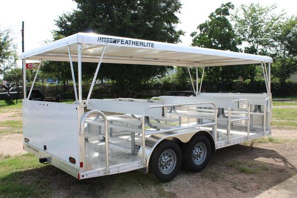 2020 FEATHERLITE - 3115 Aluminum Tram Trailer