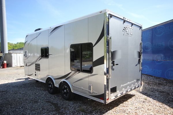 2019 ATC 20ft Aluminum Toy Hauler