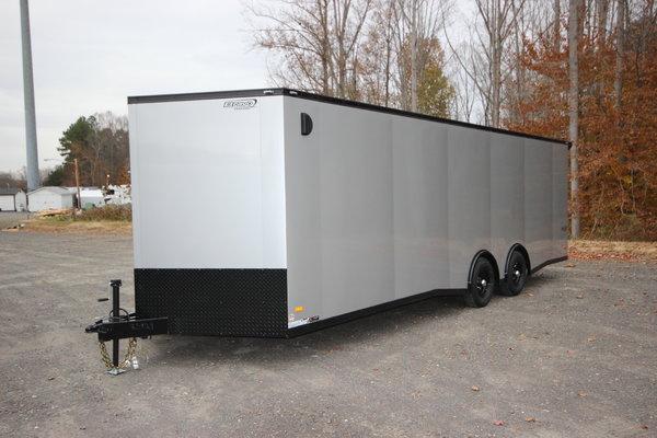 2020 Bravo Scout 24ft. w/5,200lb. Axles Enclosed Car Trailer