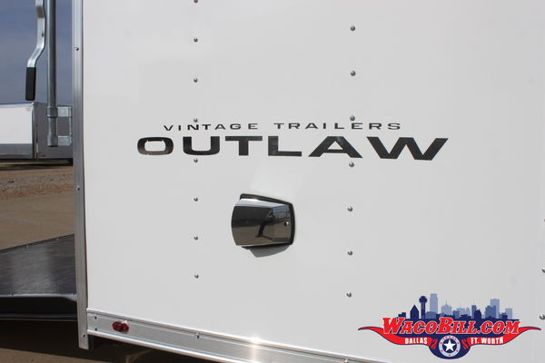 30'ft. Vintage Outlaw Loaded Race Trailer Wacobill.com