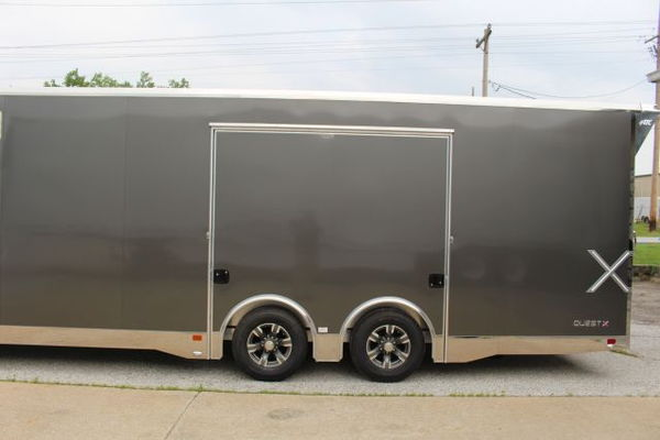 2020 ATC Quest X 8.5 x 24' Enclosed Car Trailer