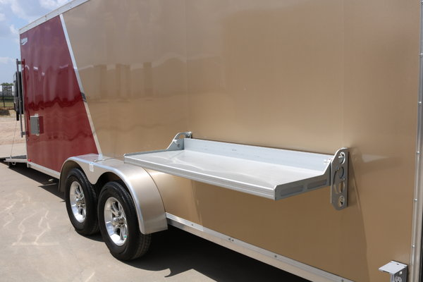 7x24 Rance Aluminum Race Trailer Wacobill.com