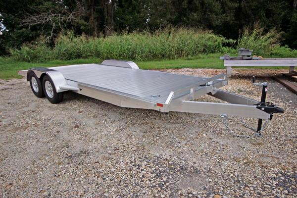 2019 Adam 20ft Aluminum W 5 200lb Axles Open Car Trailer For Sale