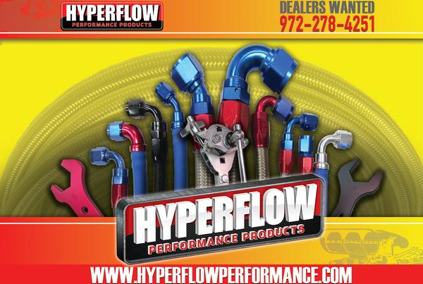 HYPERFLOW PROFESSIONAL RACE CAR PLUMBING  for Sale $6