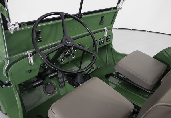 1946 Willys CJ-2A  for Sale $19,995