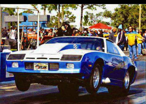 86 Camaro outlaw roller  for Sale $12,500
