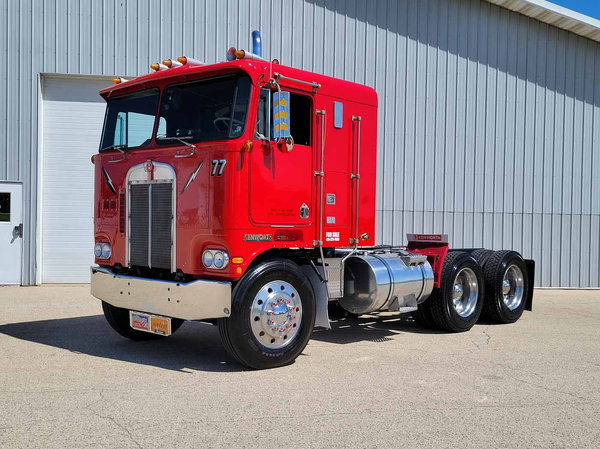 1977 KENWORTH SEMI TRACTOR SHOW TRUCK CABOVER WITH SLEEPER  for Sale $24,500