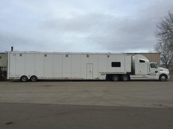 All Aluminum NASCAR trailer  for Sale $150,000