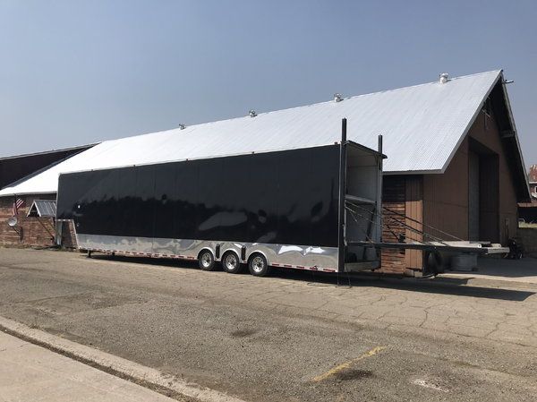 Toterhome and 53' stacker with awning!  for Sale $155,000