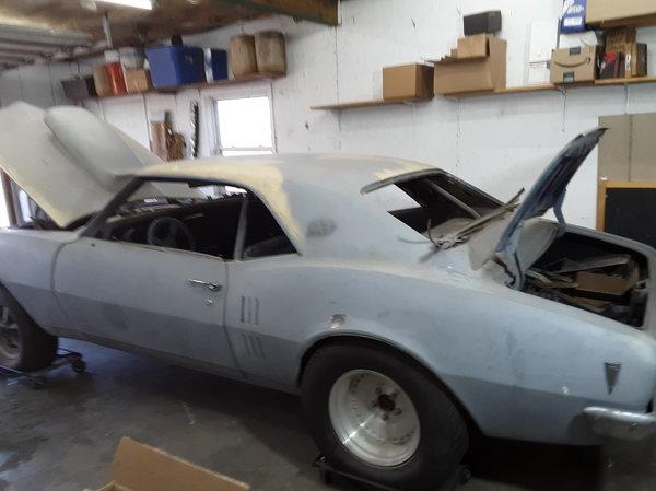 1968 pro street firebird  for Sale $9,000
