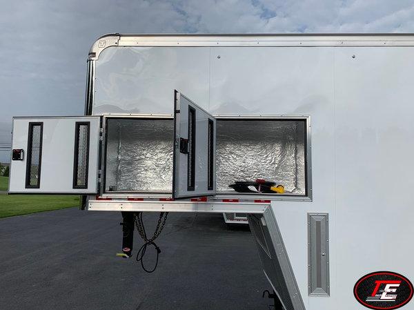 38' United Gooseneck Super Hauler Race Car Trailer  for Sale $34,995