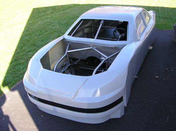 Streetable Stock Car Chassis w Fiberglass COT Impala Style B  for Sale $7,500