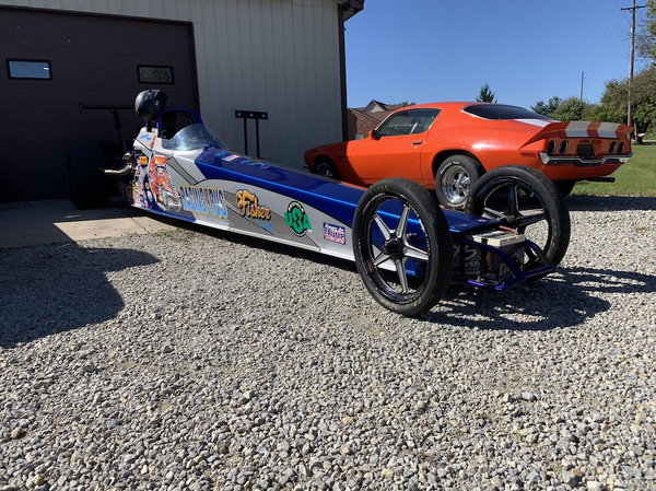 2015 POWER CAHSSIS DRAGSTER