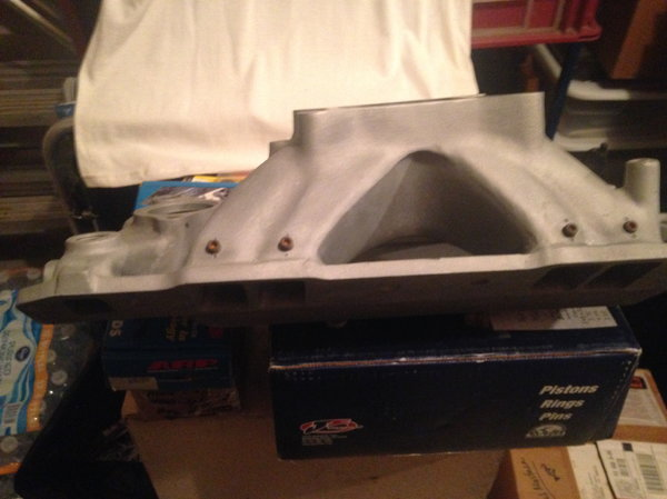 HOLLEY #300-25 SBC Intake Manifold  for Sale $175