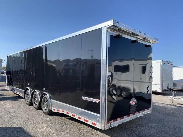 2020 Cargo Mate Eliminator 34' Aluminum Race Trailer  for Sale $29,995