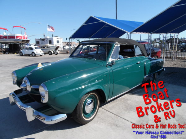 1950  studebaker   Champion Regal Deluxe Convertible  for Sale $14,900