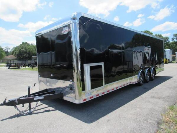 2020 32' Spread Axle Race Trailer  Eliminator by Cargo Mate  for Sale $24,999