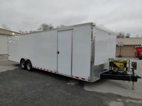 2017 28' PACE AMERICAN LOADED