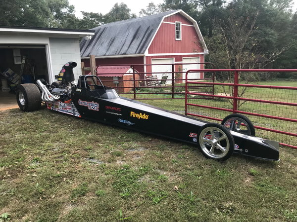 Ed Quay Fully Suspended Dragster  for Sale $26,000