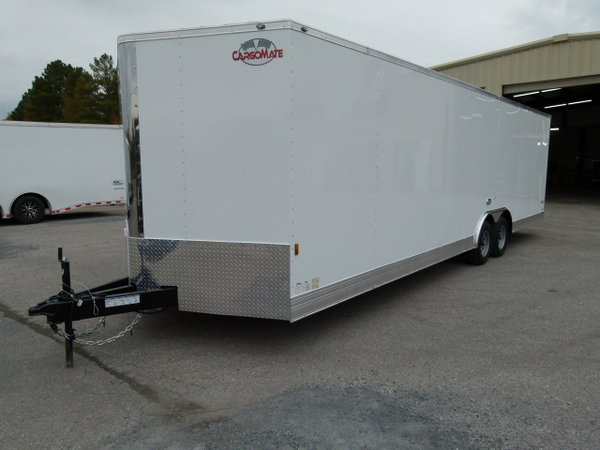 2020 28' CONTINENTAL CARGO RACE TRAILER LOADED