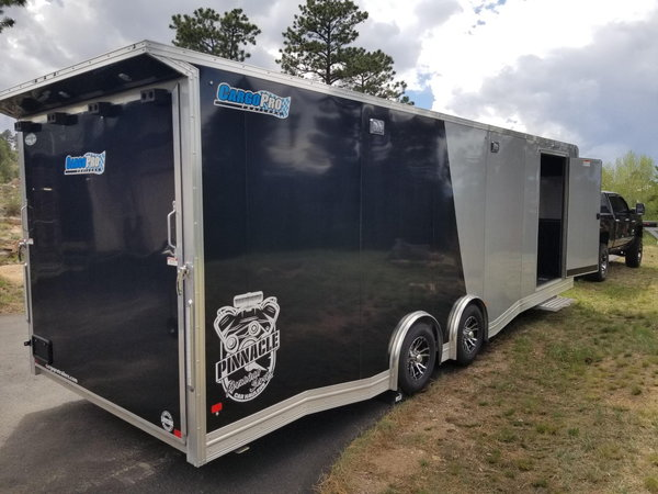 2020 Cargo Pro All Aluminum Pinnacle 8.5x26  for Sale $22,500