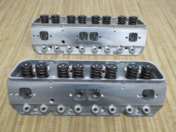 SBC 350 Aluminum Cylinder Heads  for Sale $1,050