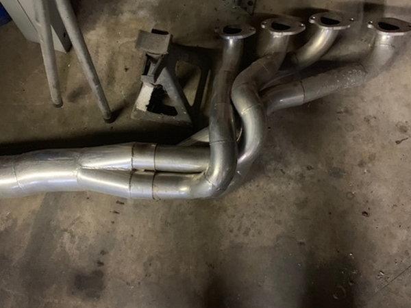 Gen 3 Camaro BBC Headers w/Mufflers  for Sale $800