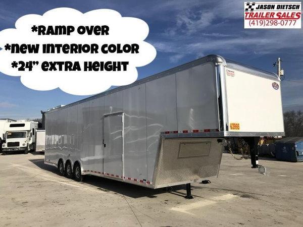 "2020 United 8.5X40  ""RAMP OVER"" Car/Race Trailer"
