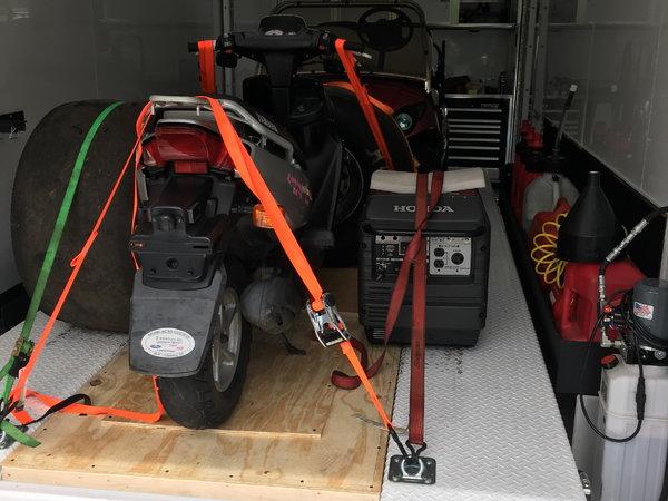 """28' T&E triple axle 11'4""""stacker  for Sale $58,000"""