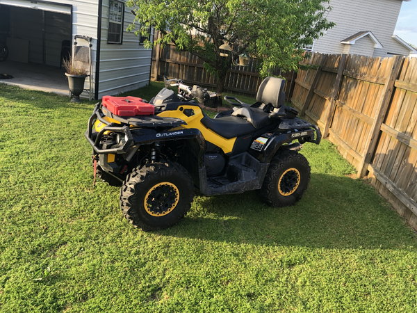 2013 Cam Am Outlander Max XT-P 1000 For Sale lots of upgrade  for Sale $12,000