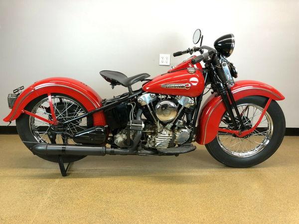 1947 HARLEY DAVIDSON FL KNUCKLEHEAD  for Sale $20,000