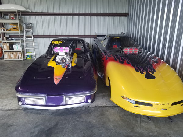 2003 CORVETTE FUNNY CAR  for Sale $55,000