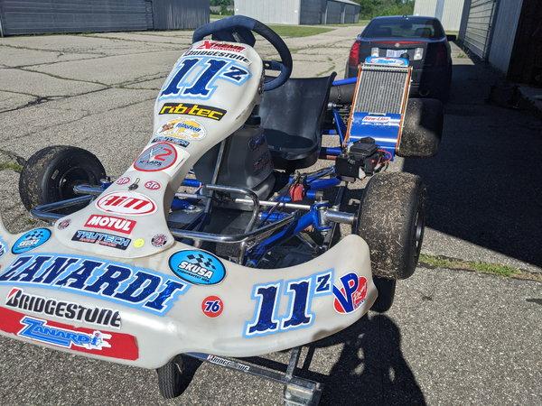 X30 Zanardi Kart  for Sale $4,250