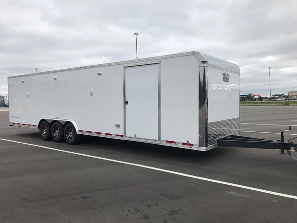 2020 Vintage 32' Outlaw Race Trailer