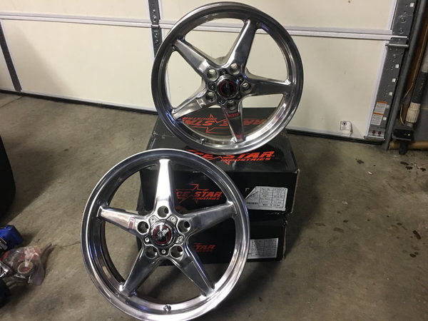 Race star 92 17X 4.5 Fronts  for Sale $400