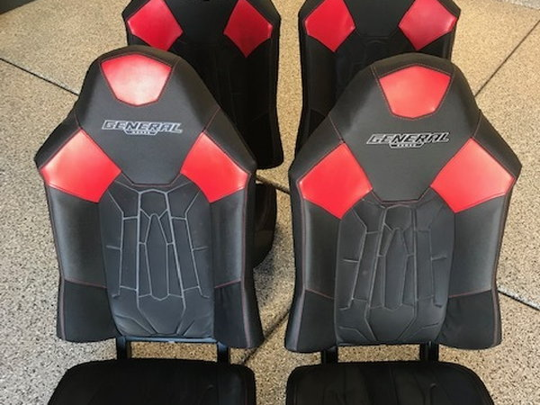Four 2017 Polaris General bucket seats and seat belts.  for Sale $200