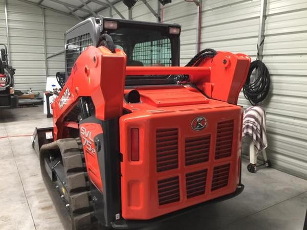 2018 kubota SVL 75-2 High Flow  ac/heat only 5 hours use