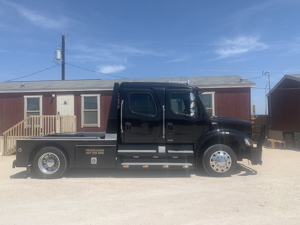 2009 FREIGHTLINER M2-112 SPORTCHASSIS  for Sale $109,500