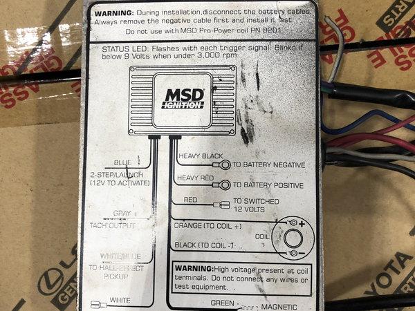 MSD 6-AL2 part # 6421 for sale in Orlando, FL, Price: $200