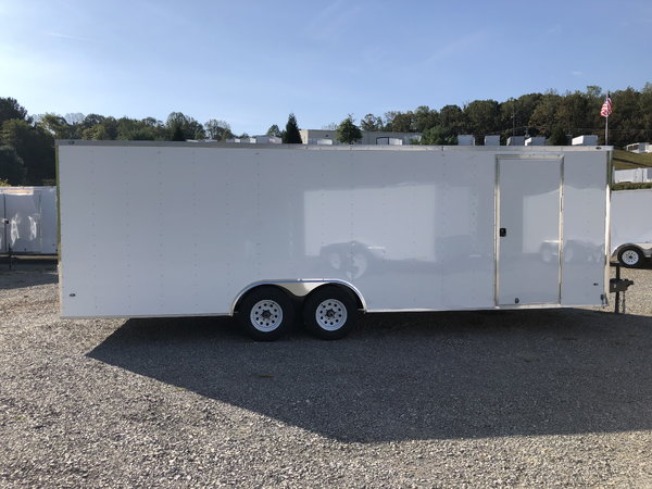 2020 8.5 x 24' Rocket Enclosed Car Hauler 10,000# GVW