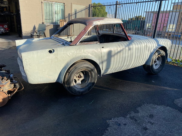 1966 Sunbeam Tiger - MK1A Roller - Ex Race Car  for Sale $6,000