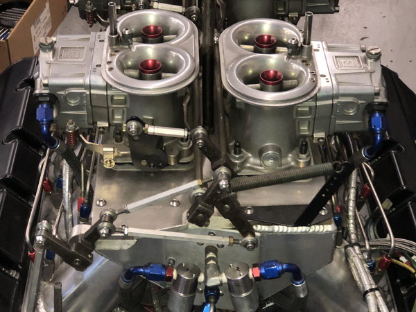 Buck Racing Engines 5.3 Bore Space 903 Carbureted  4 Stages  for Sale $55,000