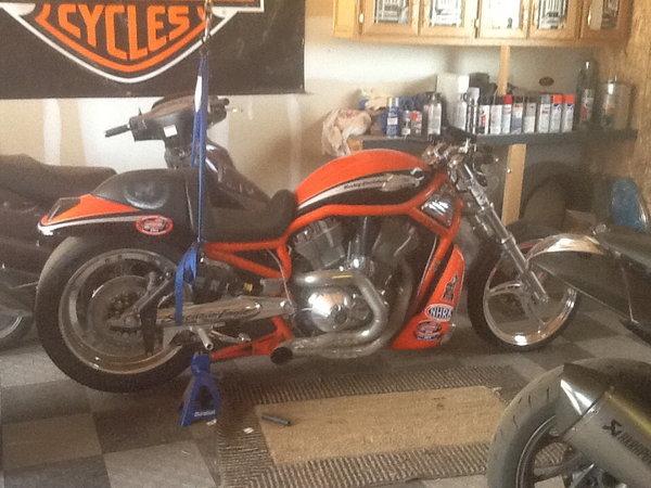 2006 Harley Davidson Destroyer drag bike VRSXE  for Sale $12,500