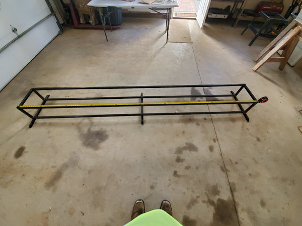Double stack racing gokart tire rack. 10 ft. In length.&nbsp  for Sale $125
