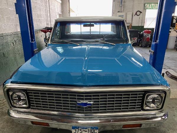 1972 Chevrolet C10 Pickup  for Sale $62,500