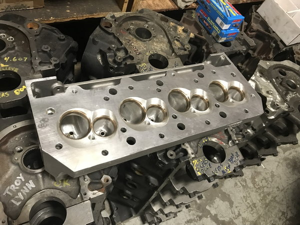 "Dart 5"" BS 9.800 deck billet water block  for Sale $19,000"